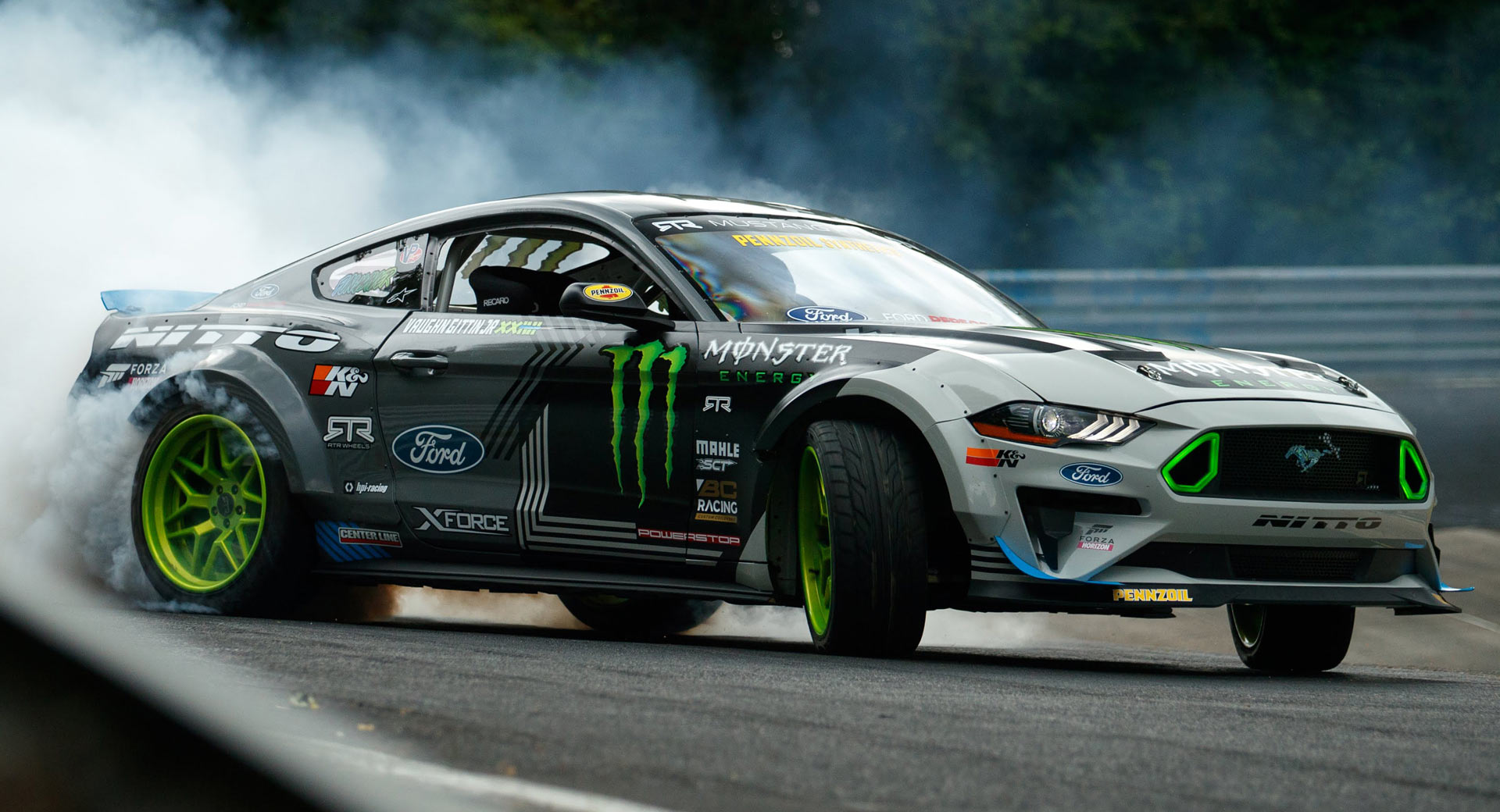 Ford Mustang RTR Becomes The First Car To Drift The Entire Nurburgring | Carscoops