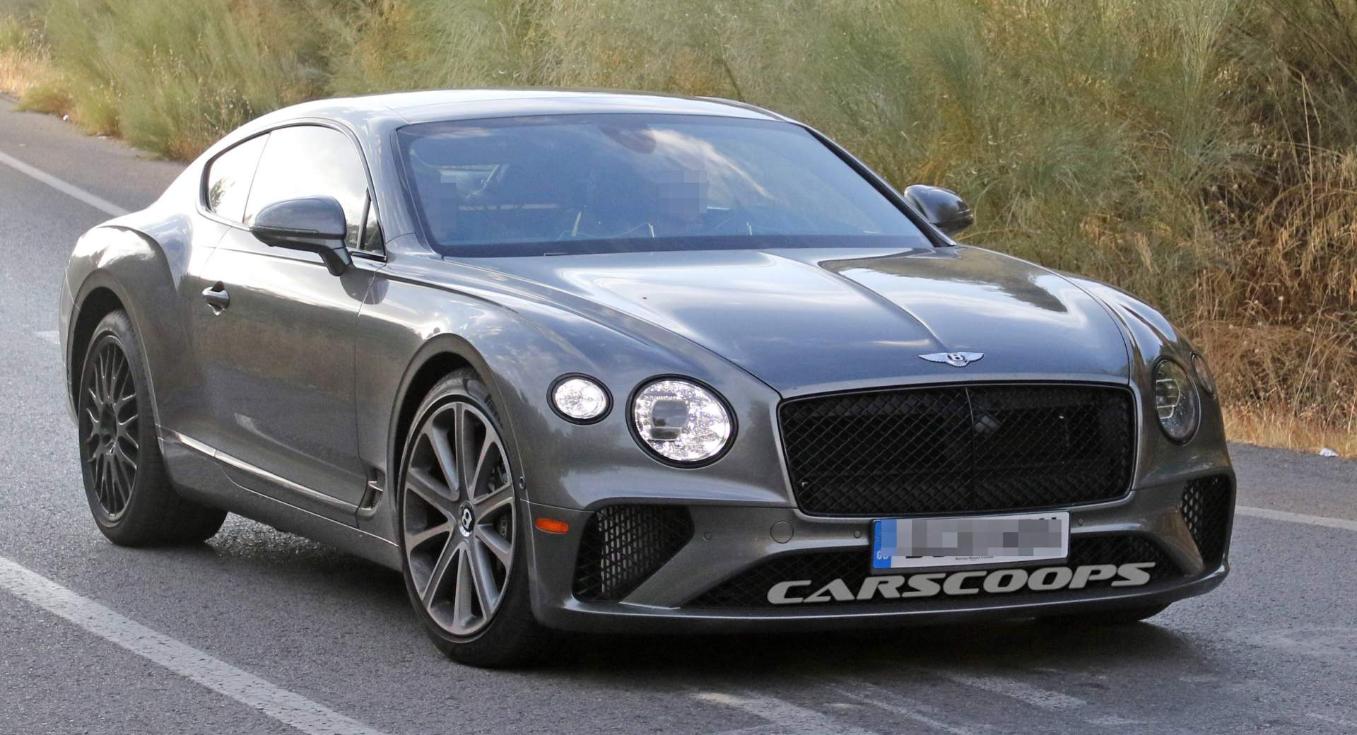 2020 Bentley Continental Gt Speed Spied Mixing Wheel Sets