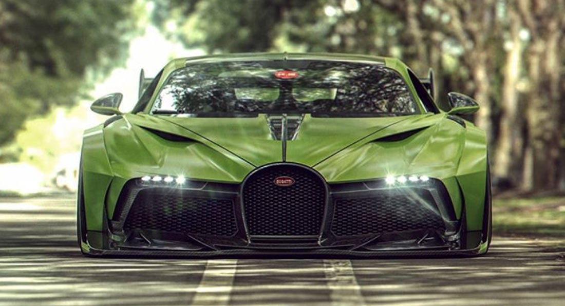 widebody divo would make a much wilder chiron based bugatti carscoops