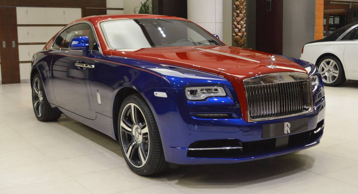 Rolls Royce Wraith Makes A Bold Statement With Bespoke