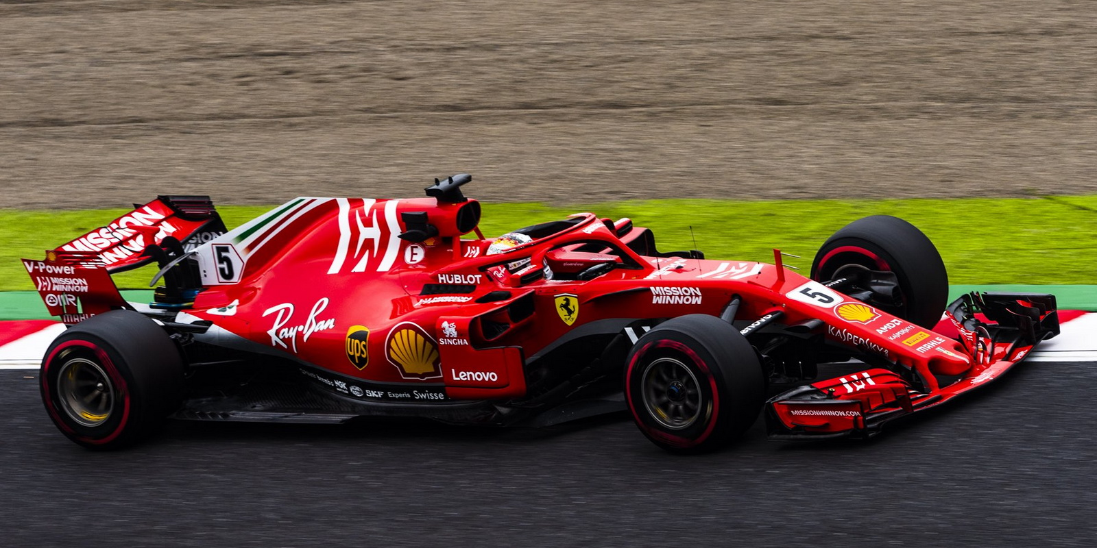 Ferrari Updates Formula 1 Livery For Rest Of 2018 Season