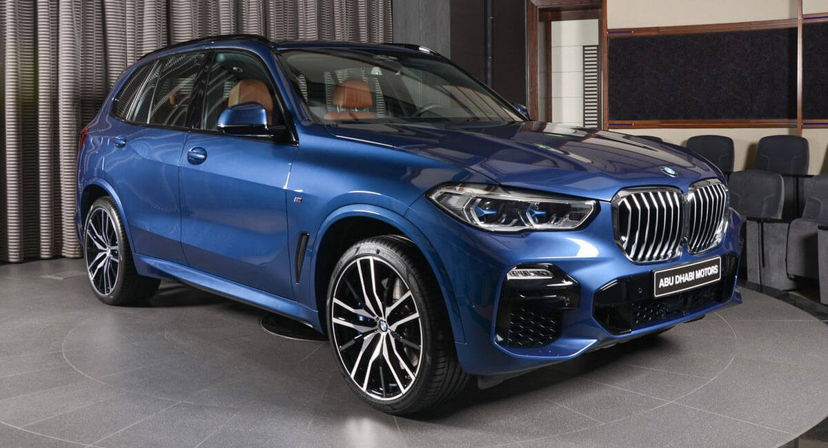 New Bmw X5 Xdrive50i Looks Dashing In Phytonic Blue