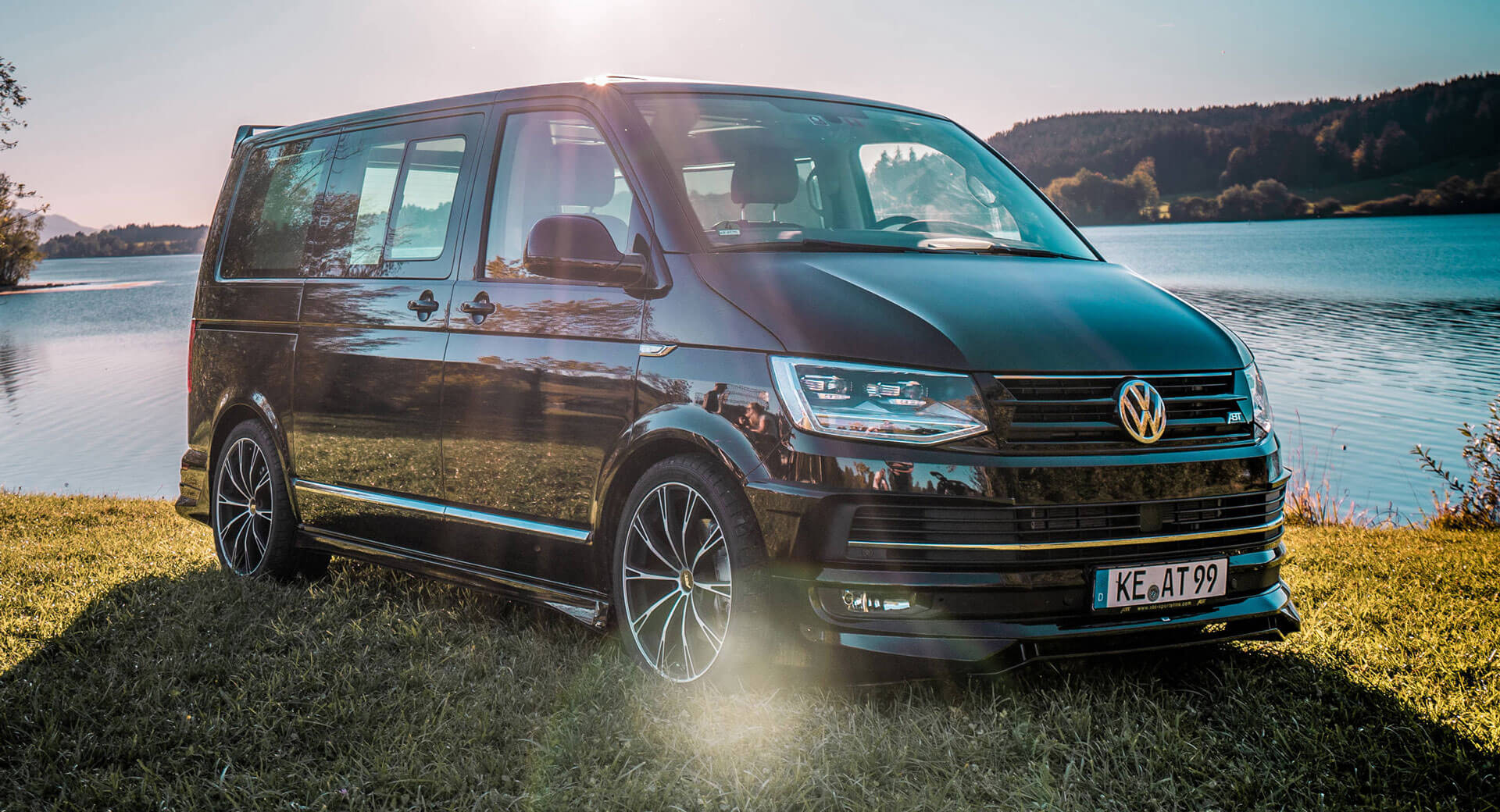 Abt Gives Vw T6 A Dose Of Aggressiveness Injects More Power Carscoops