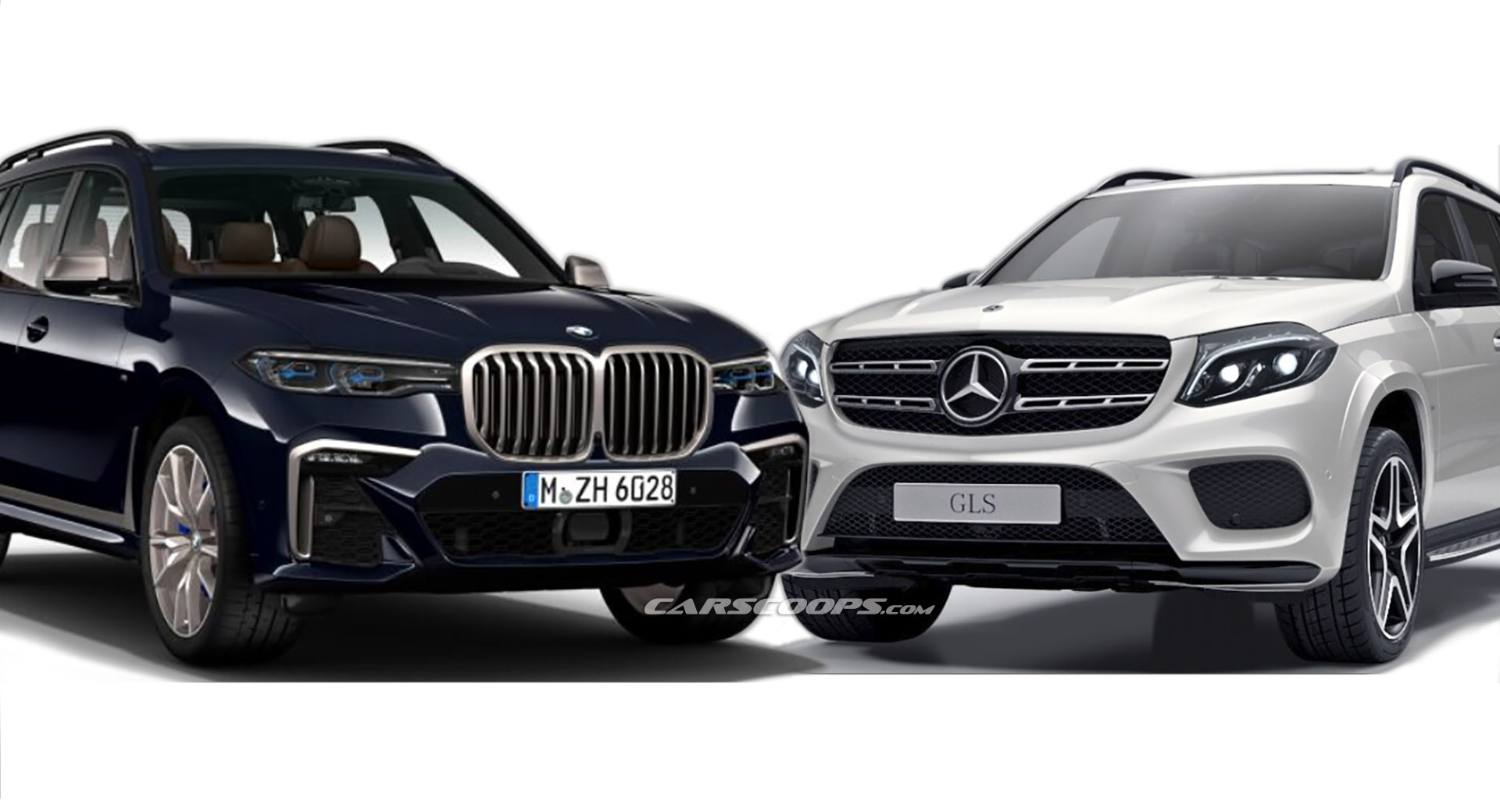 BMW X7 2018 >> BMW X7 Vs Mercedes GLS: Which Full-Size German Luxury SUV Do You Prefer? | Carscoops