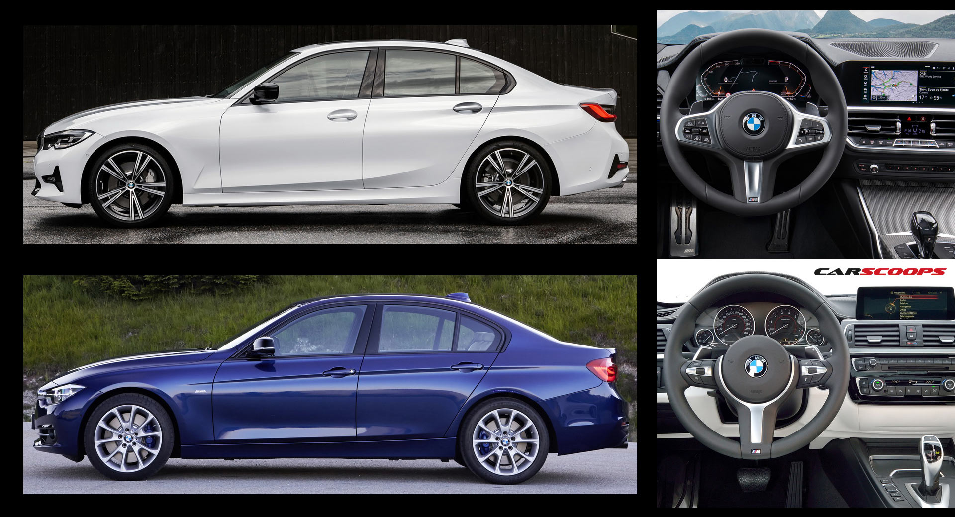 flipboard new bmw 3 series g20 vs its predecessor f30 so is newer better. Black Bedroom Furniture Sets. Home Design Ideas
