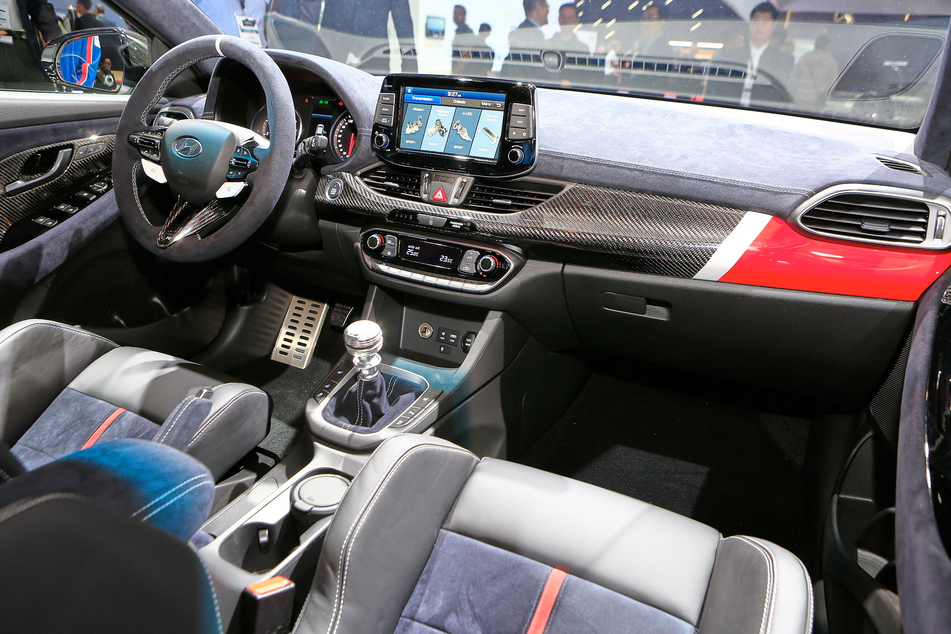 Steering Wheel Shaking >> Hyundai N Option Concept Borrows A Page From BMW's M ...