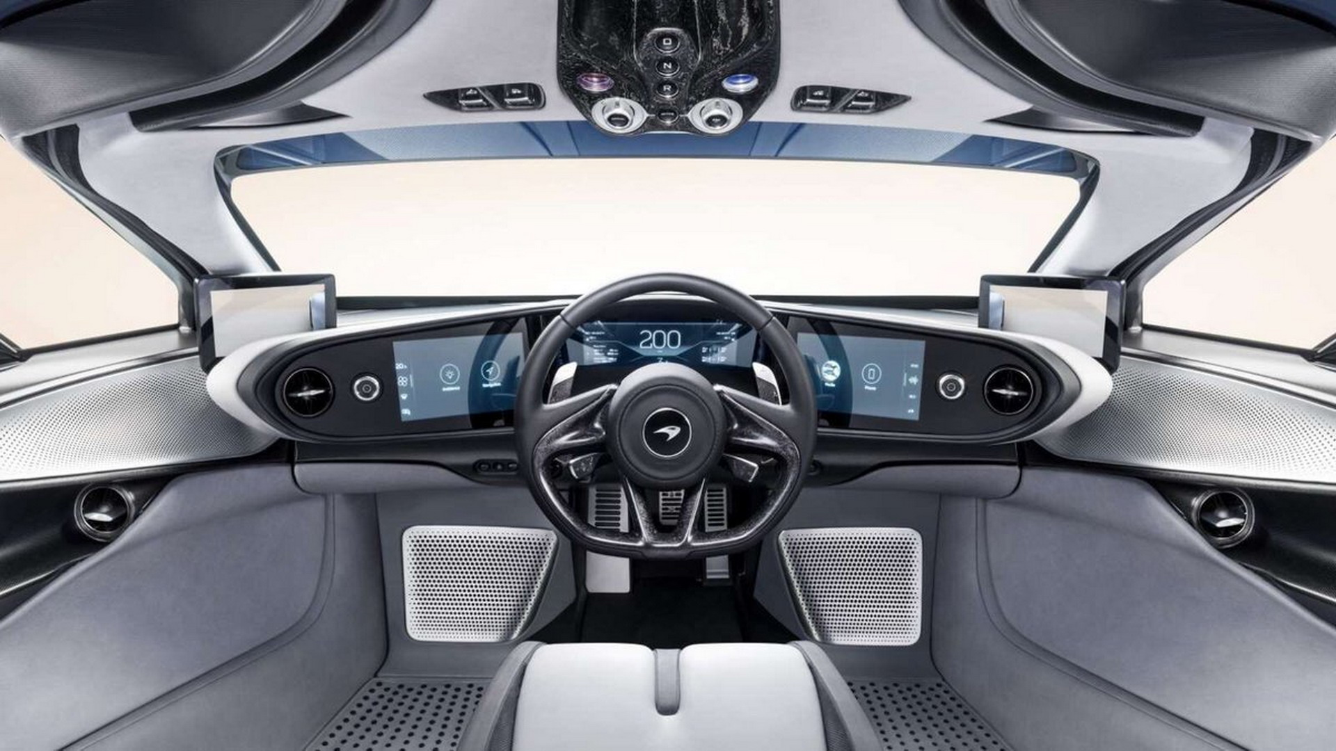 McLaren Speedtail revealed and it gets gear-selector button on the roof!