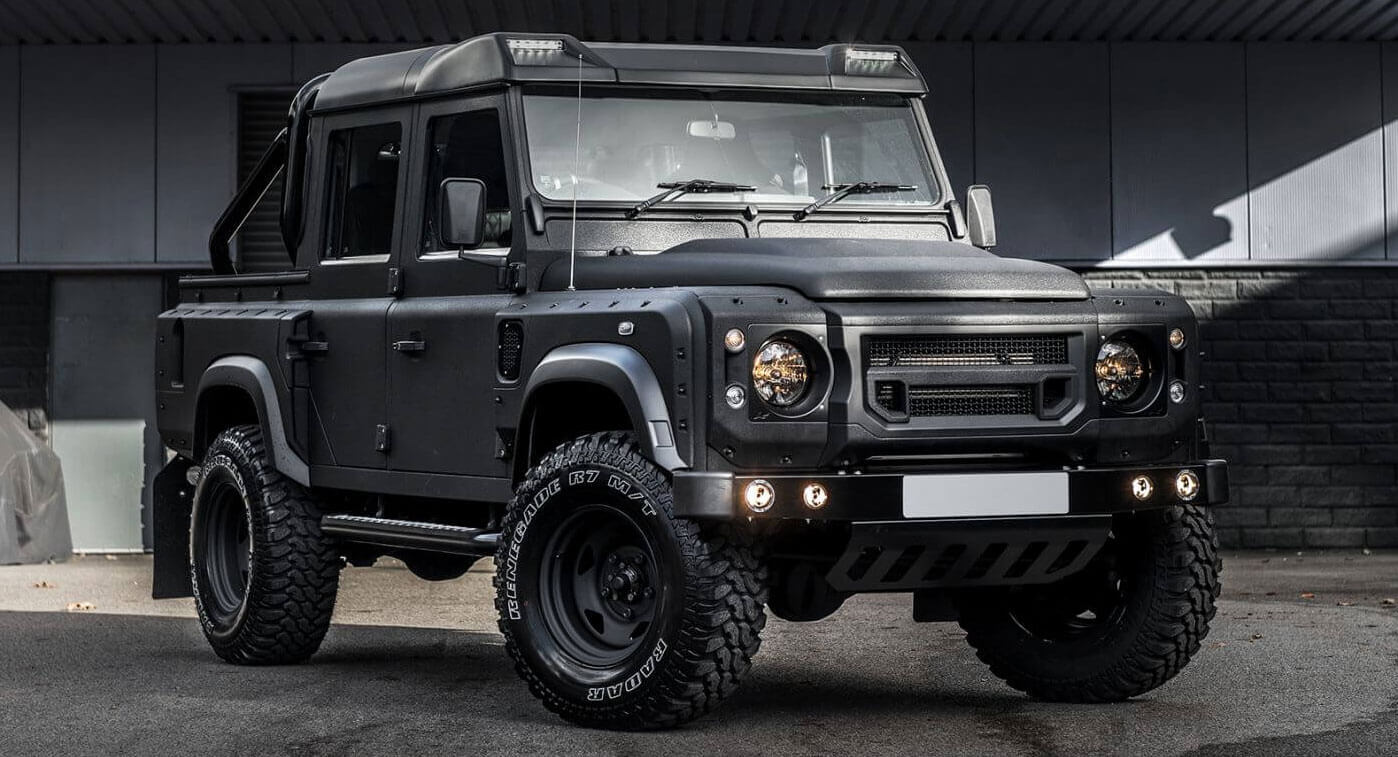 $90k Bespoke Land Rover Defender Pickup Is Ready For The ...