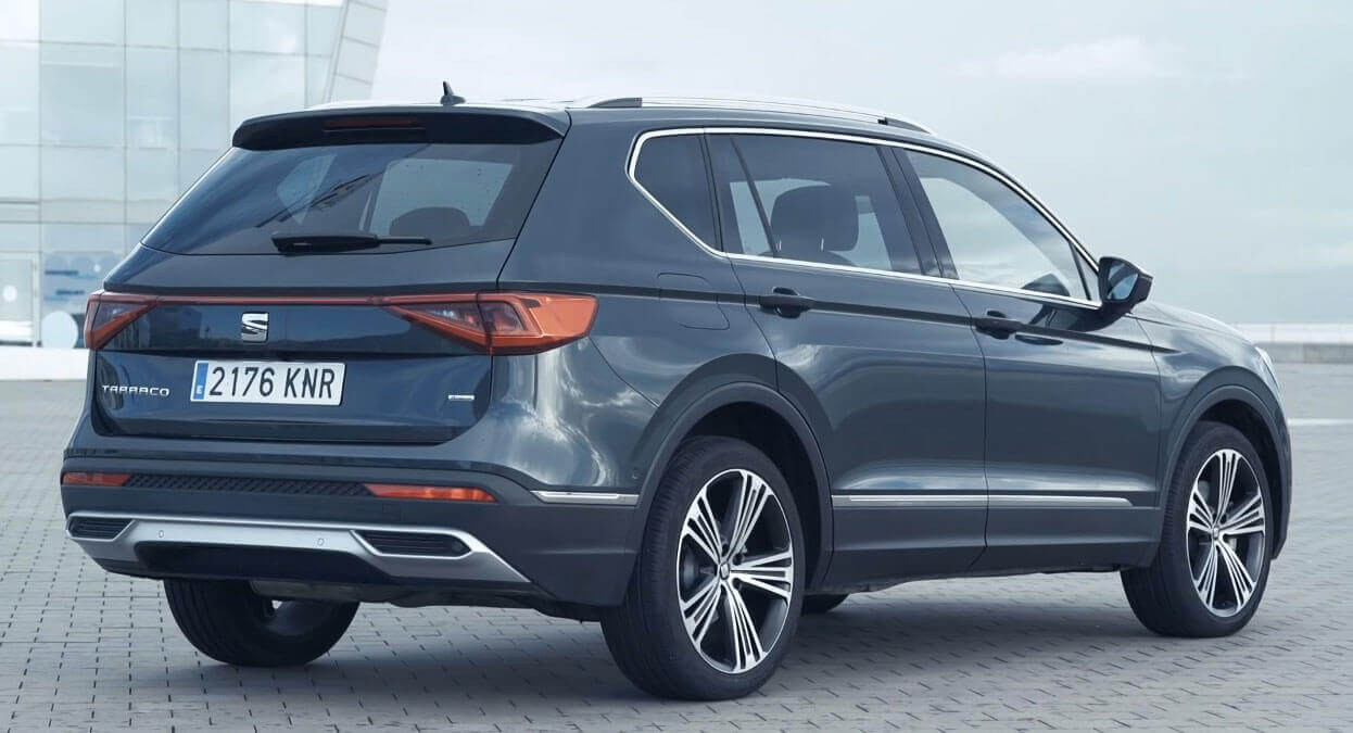 the tarraco is a restyled skoda kodiaq with seat badges. Black Bedroom Furniture Sets. Home Design Ideas
