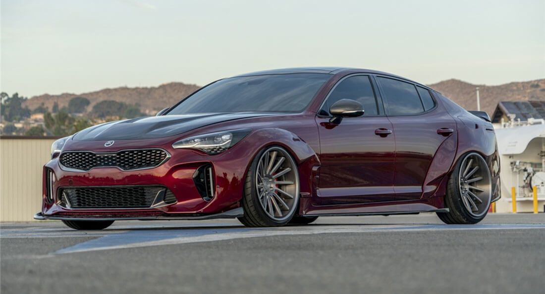 yay or nay for this custom kia stinger gt widebody. Black Bedroom Furniture Sets. Home Design Ideas