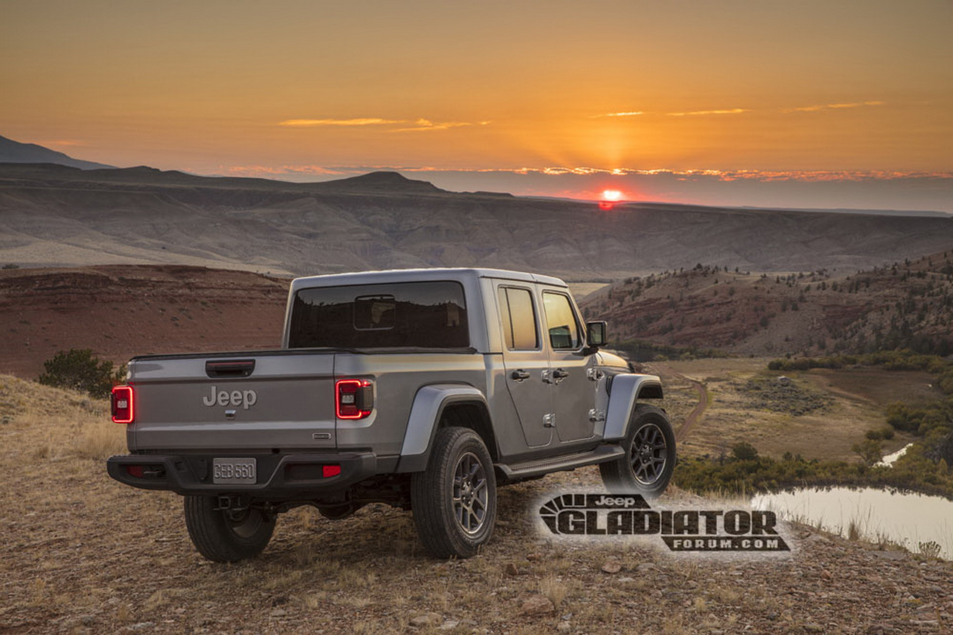 Jeep Gladiator revealed before LA Auto Show