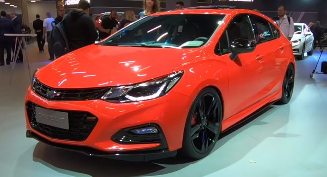 Chevy's 295HP Cruze SS Concept Is A Modern Take On The Cobalt SS
