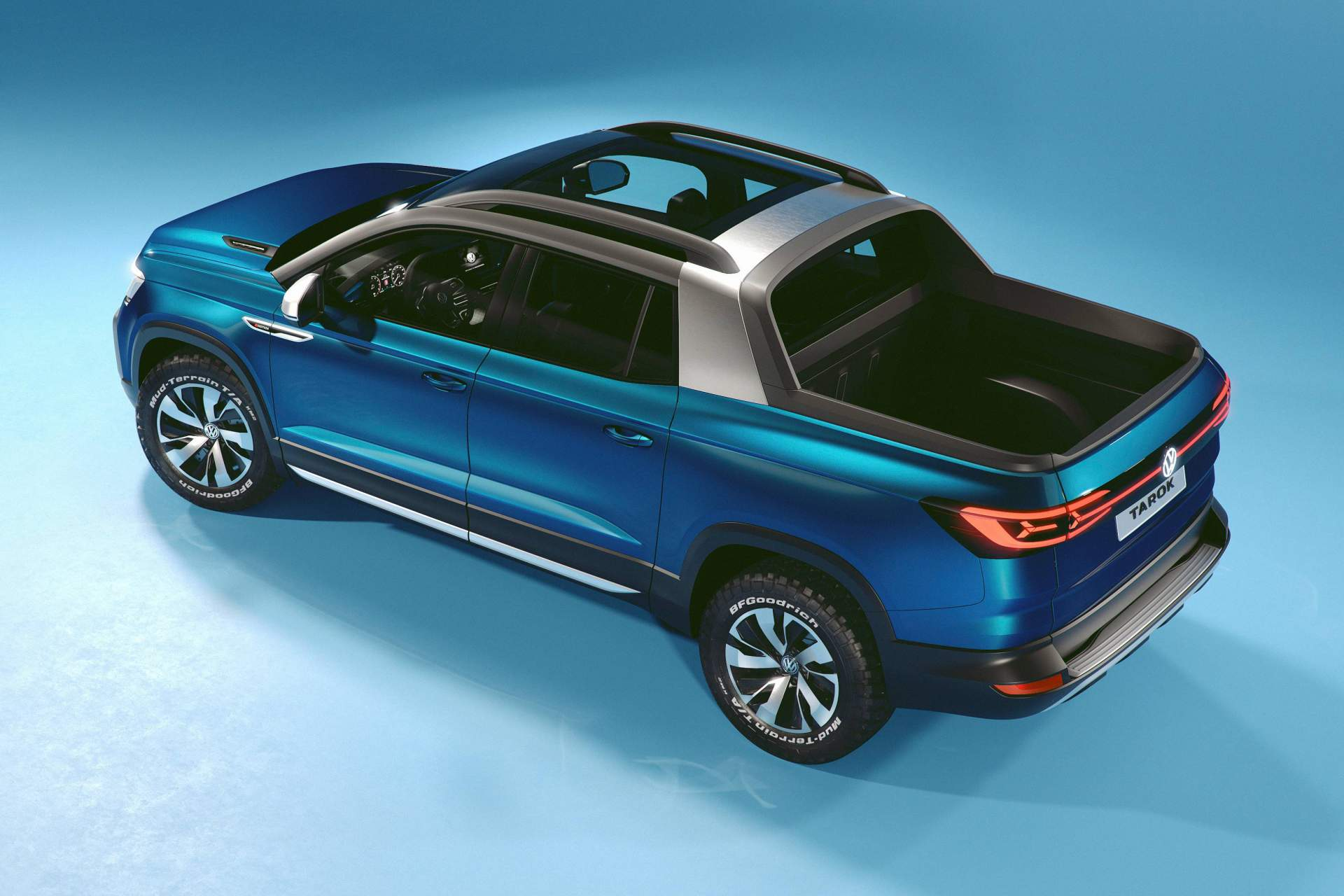 Volkswagen Tarok Pickup Truck Revealed In Brazil