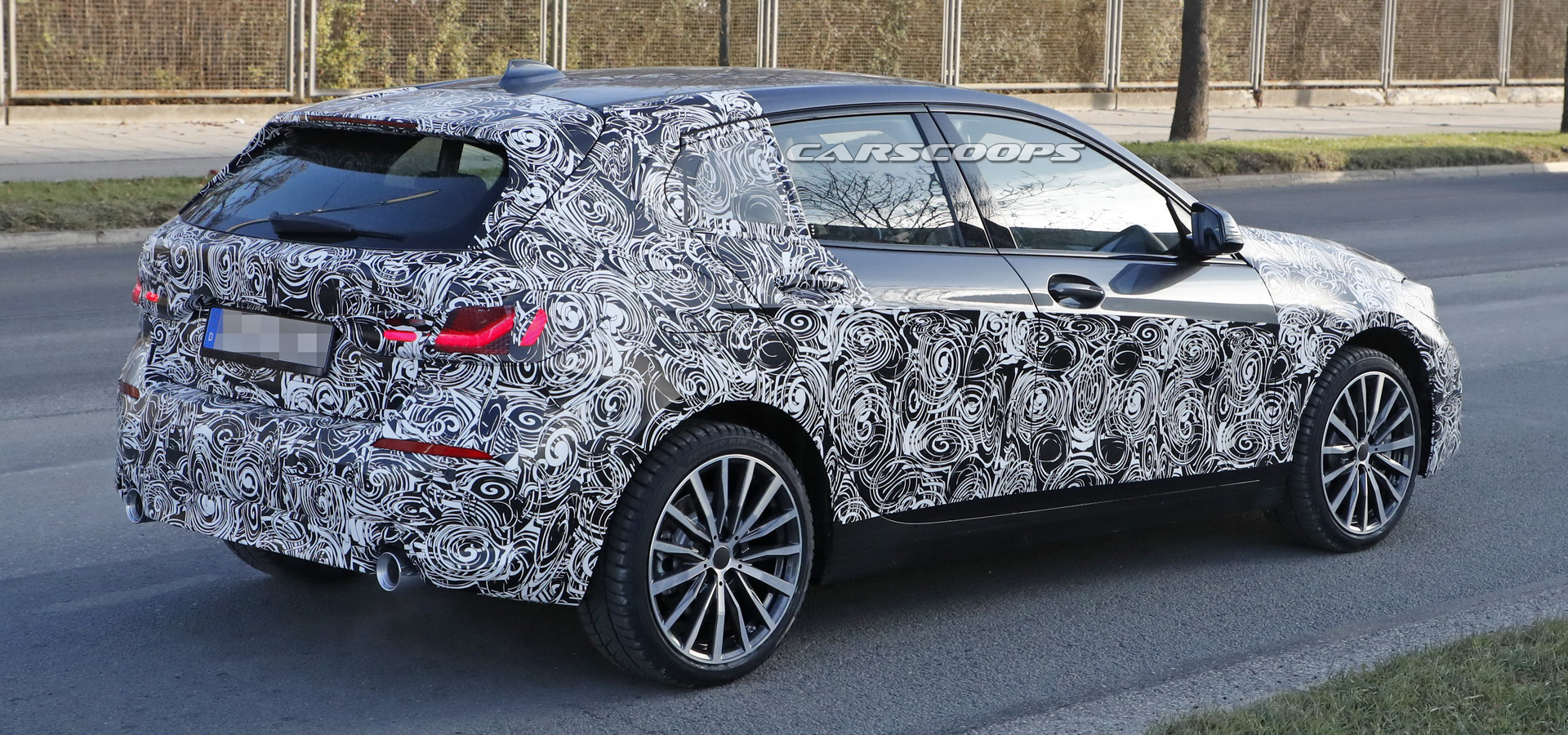 2019 Bmw 1 Series New Front Wheel Drive Hatch Shows More Flesh