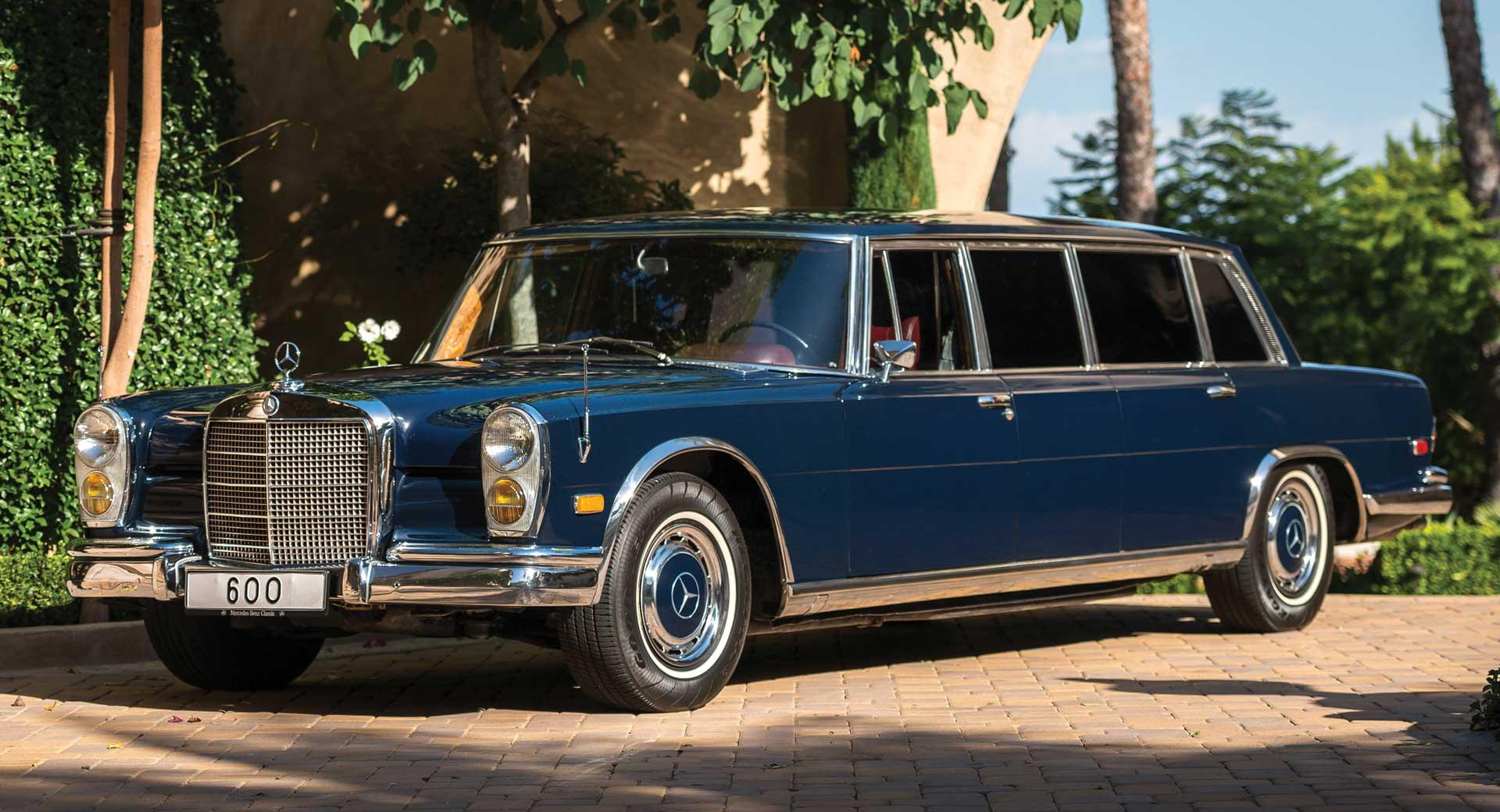 Gentlemen Your Classic Mercedes Pullman Limousine Has