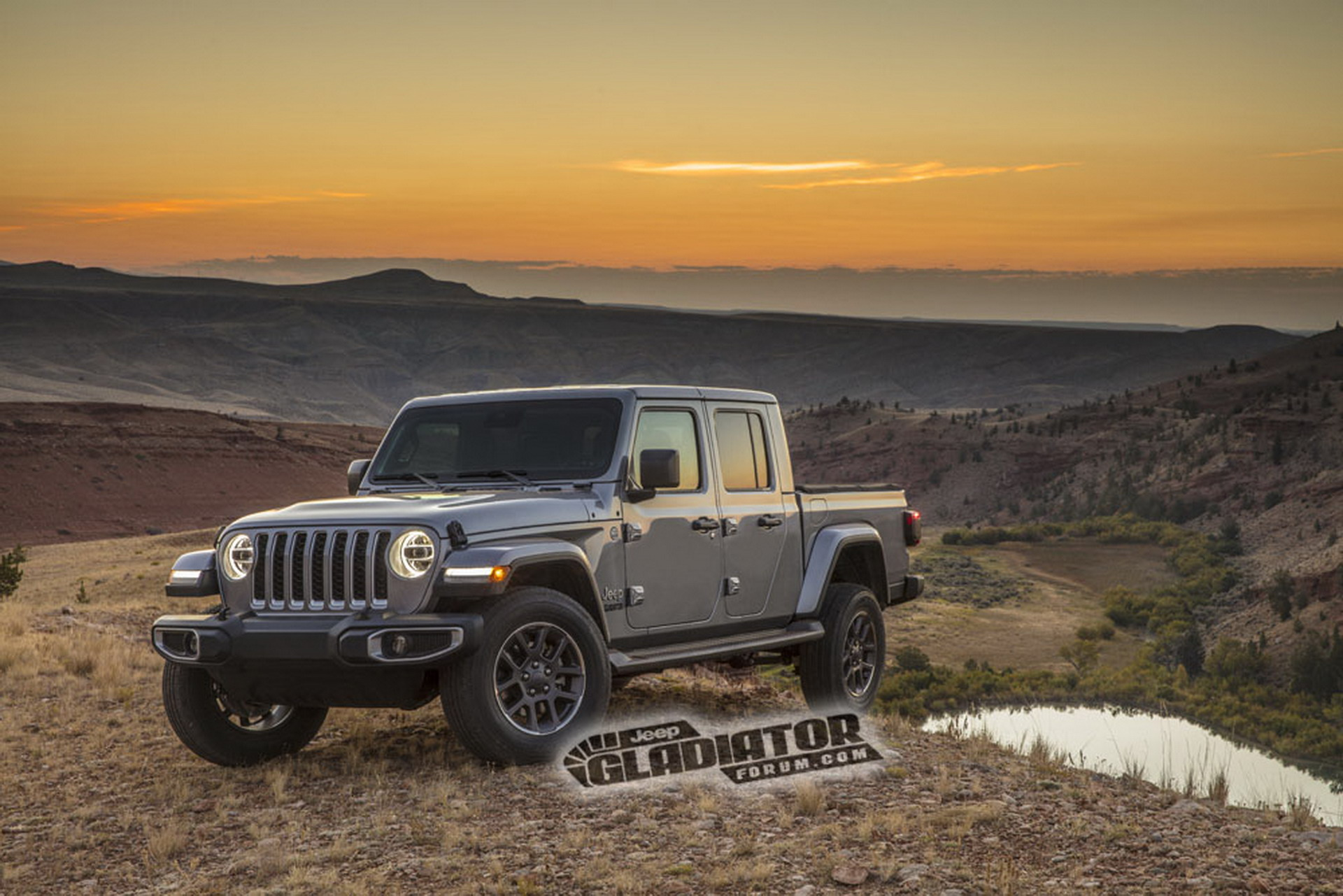 New Jeep Gladiator pick-up leaked ahead of LA show debut