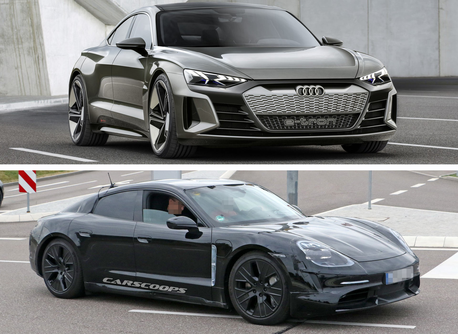 Will The Audi E-Tron GT Steal The Porsche Taycan's Thunder ...