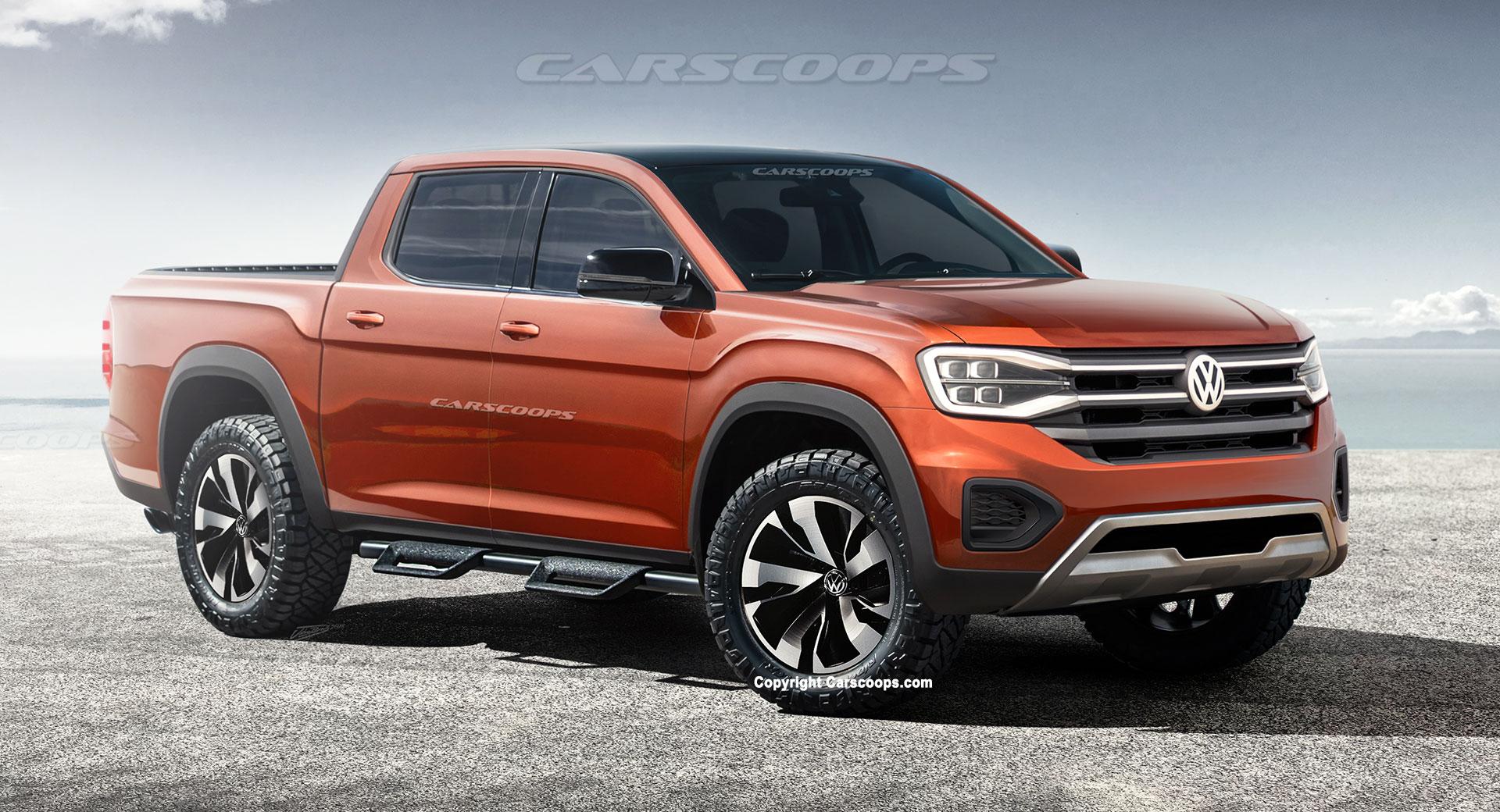 2022 Volkswagen Amarok: Envisaging A Ford Ranger-Based ...