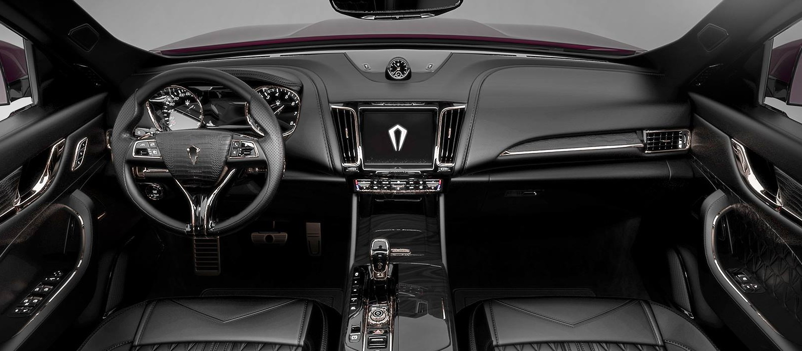 Maserati Levante Interior >> Maserati Levante Interior Dialed Up To 'Glamorous' By