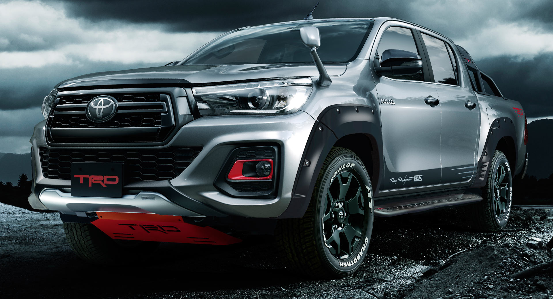 Toyota S New Hilux Black Rally Edition Is Trd Overload