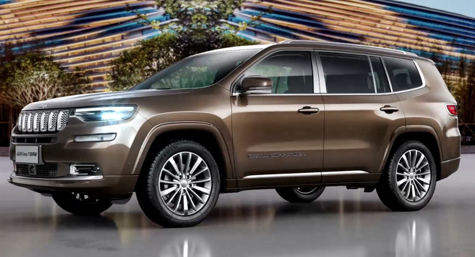 Grand Wagoneer 2018 >> China S Jeep Grand Commander Might Come To U S As A