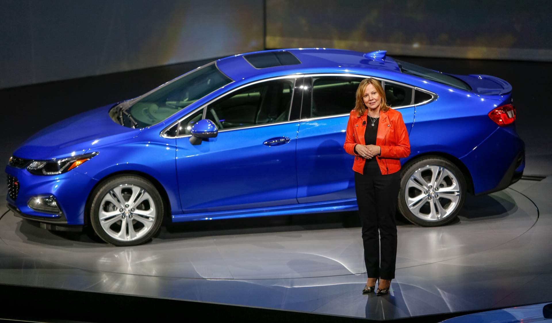 GM's Mary Barra vows 'open mind,' makes no promises on plant closings