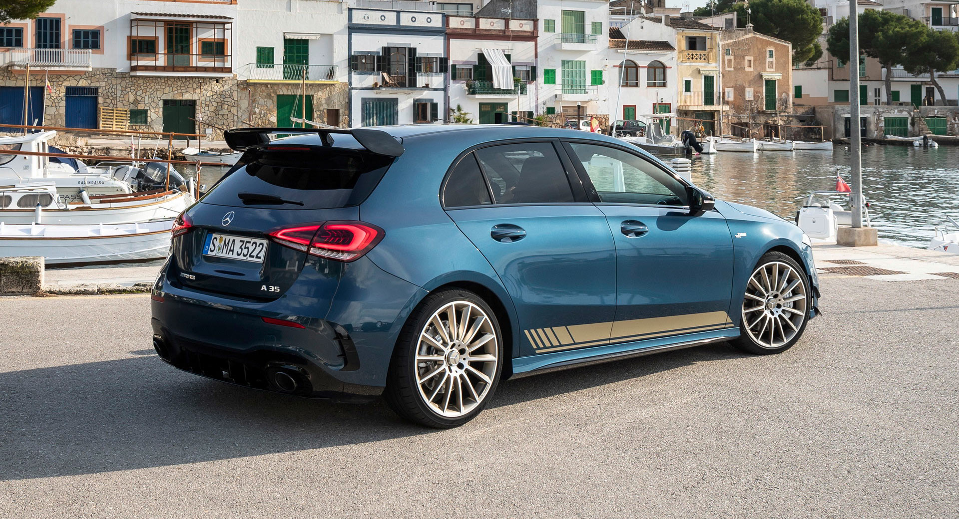 2019 Mercedes Amg A35 Amg S Most Affordable Model Gets