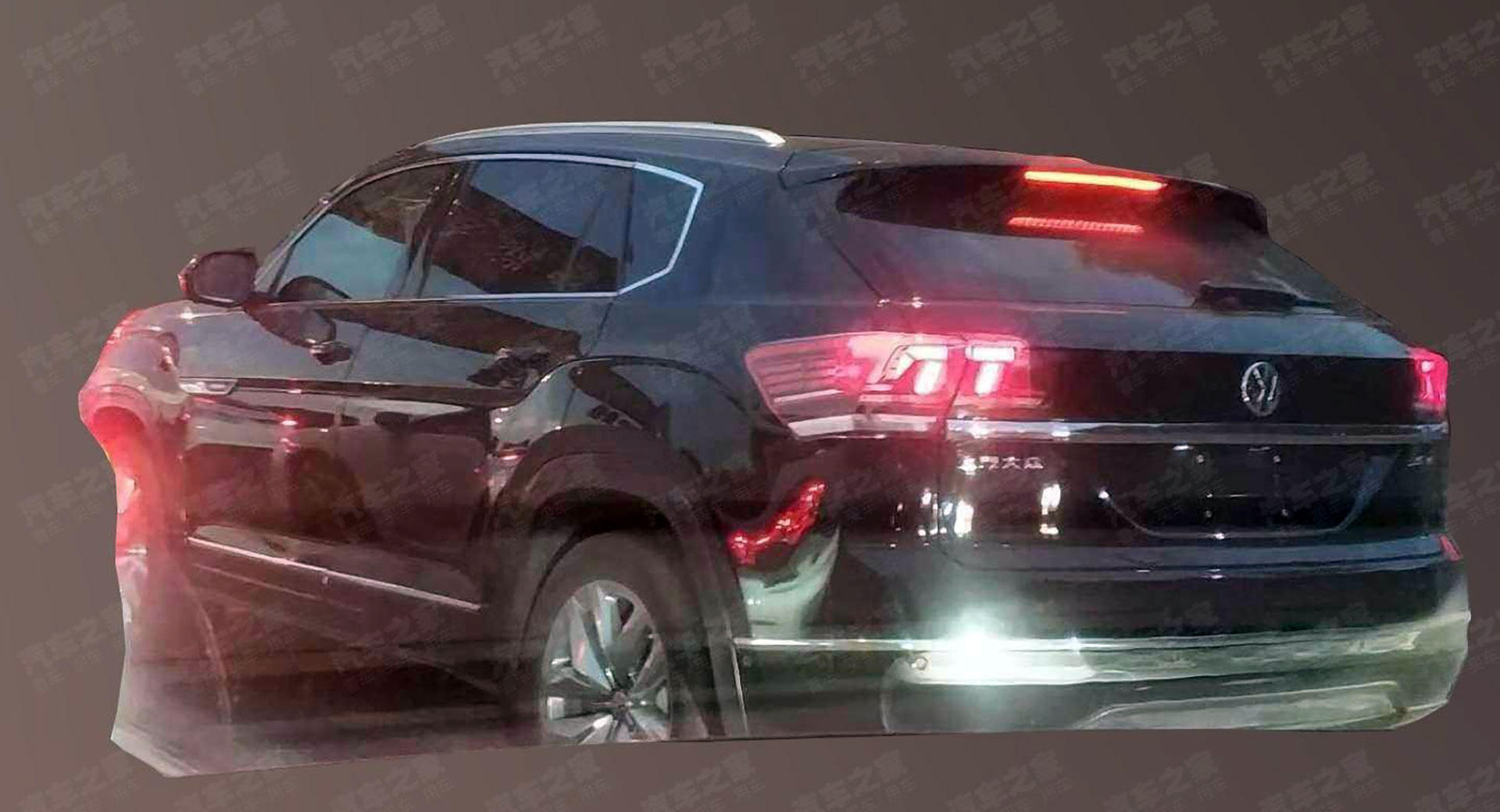 2020 Vw Atlas Cross Sport Production Model Spotted