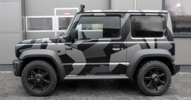 2019 suzuki jimny now more apt for road use thanks to h r. Black Bedroom Furniture Sets. Home Design Ideas
