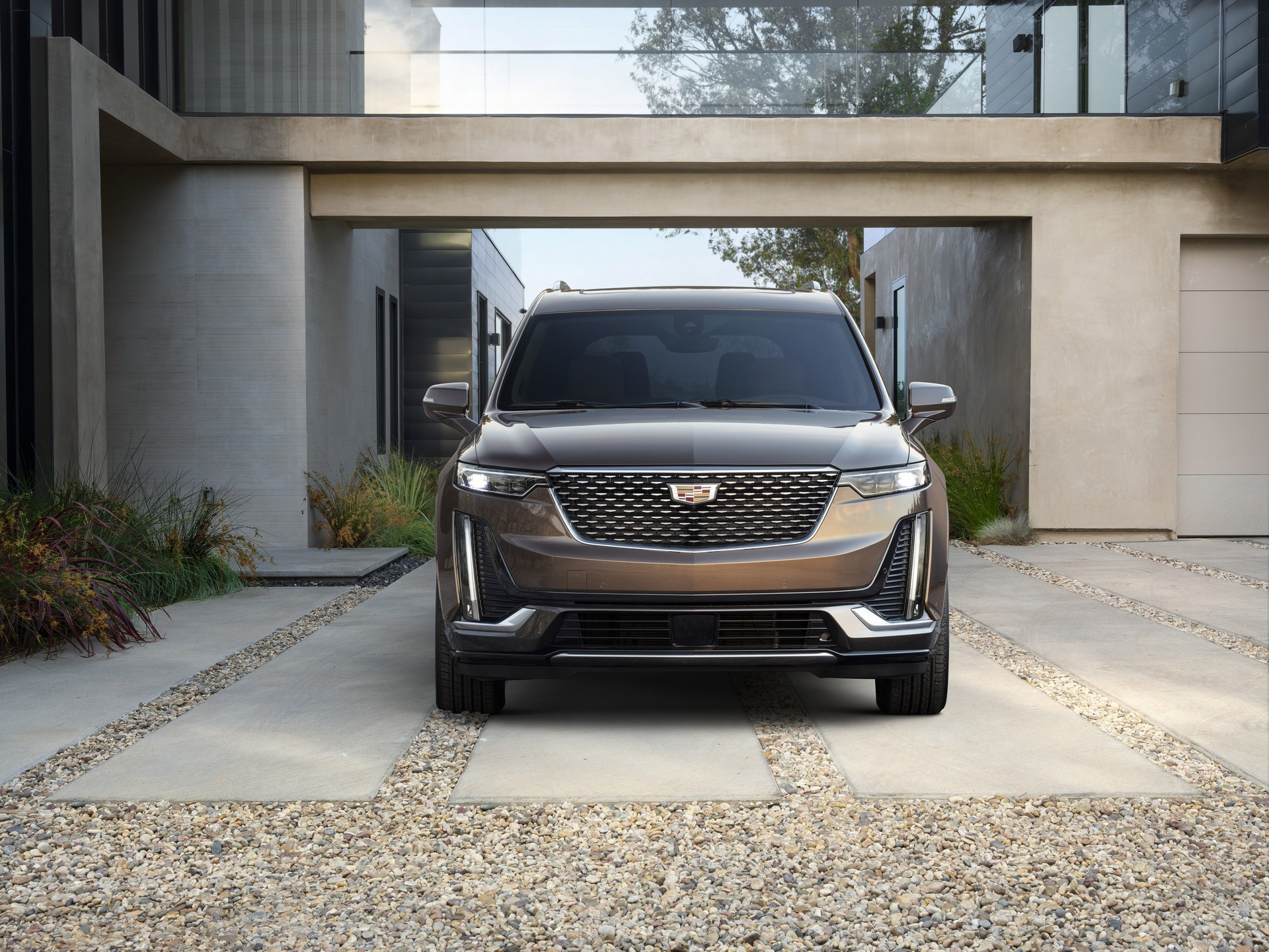 GM shows off images of Tesla rivalling all-electric SUV from Cadillac
