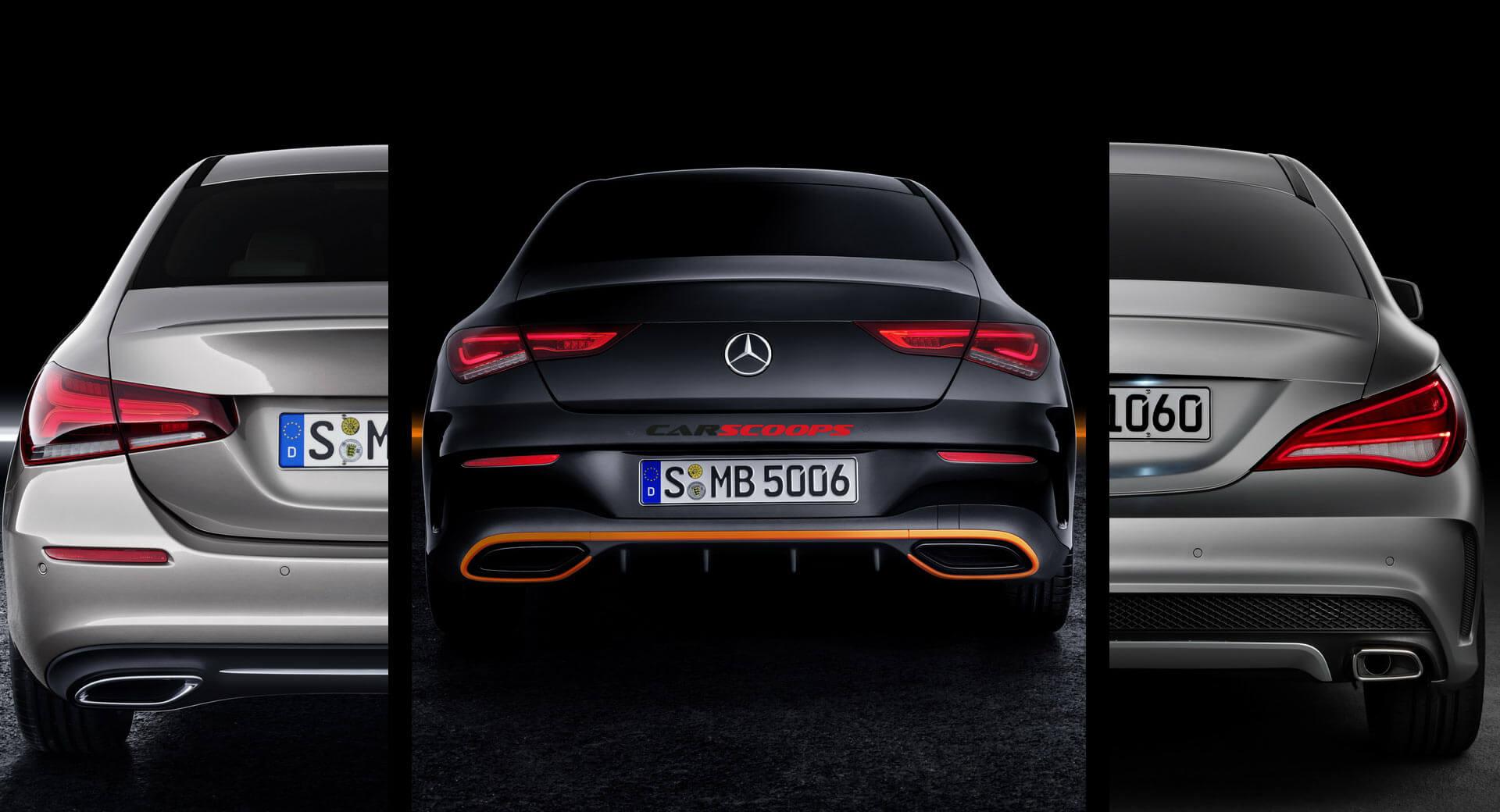 new mercedes cla vs old cla vs new aclass sedan are they