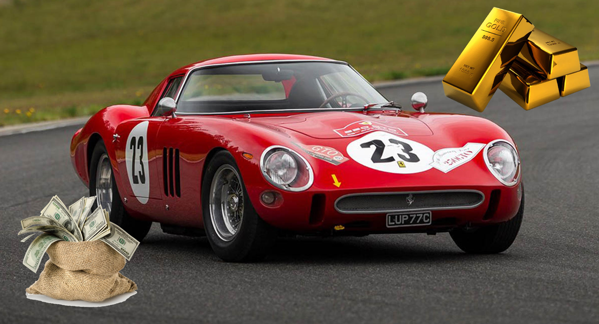The Ferrari 250 GTO Is Now Worth More Than Its Weight In