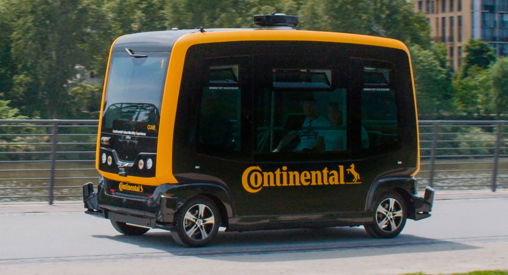 Continental Envisions Delivery Robots And Autonomous