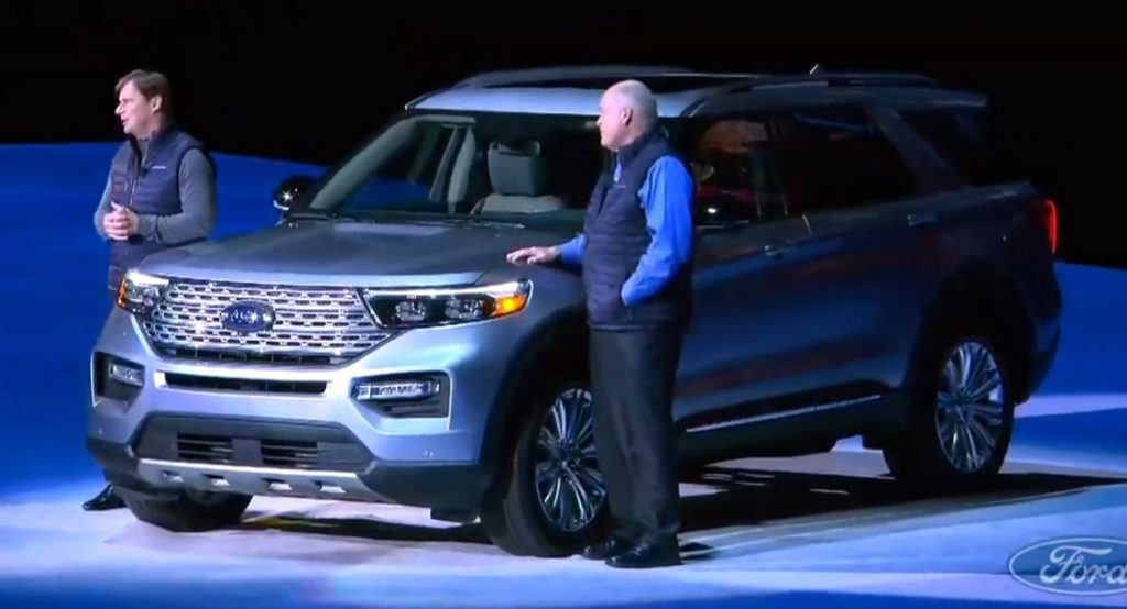 2020 Ford Explorer Debuts With Less Weight And New Rwd