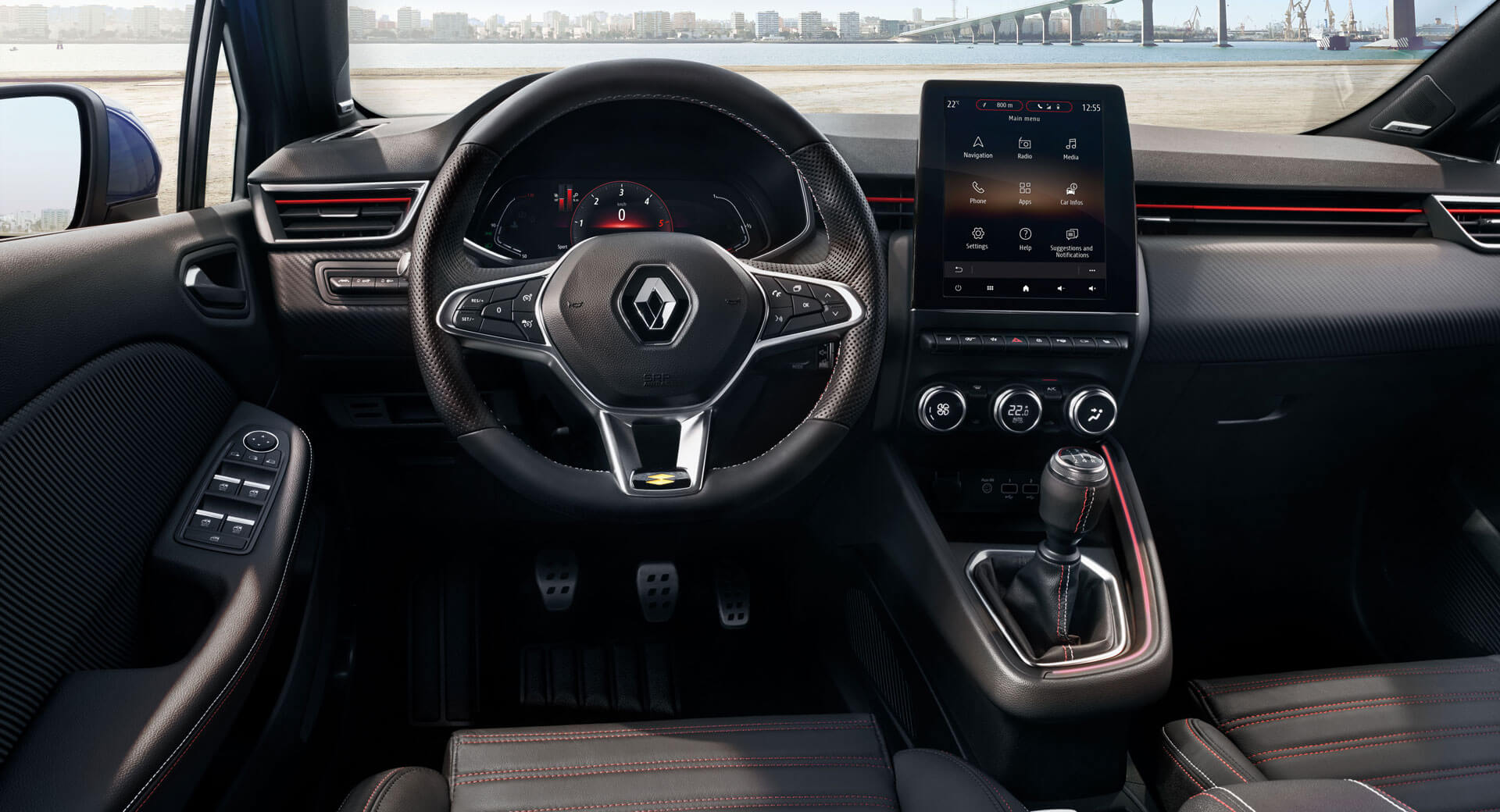 QnA VBage First Look Inside 2020 Renault Clio Reveals Striking Tech-Heavy Approach