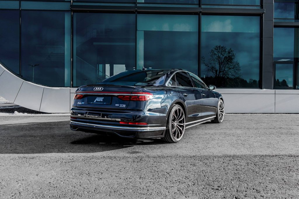 Abt Gives New Audi A8 A Discreet Styling Kit To Go With Power Bump