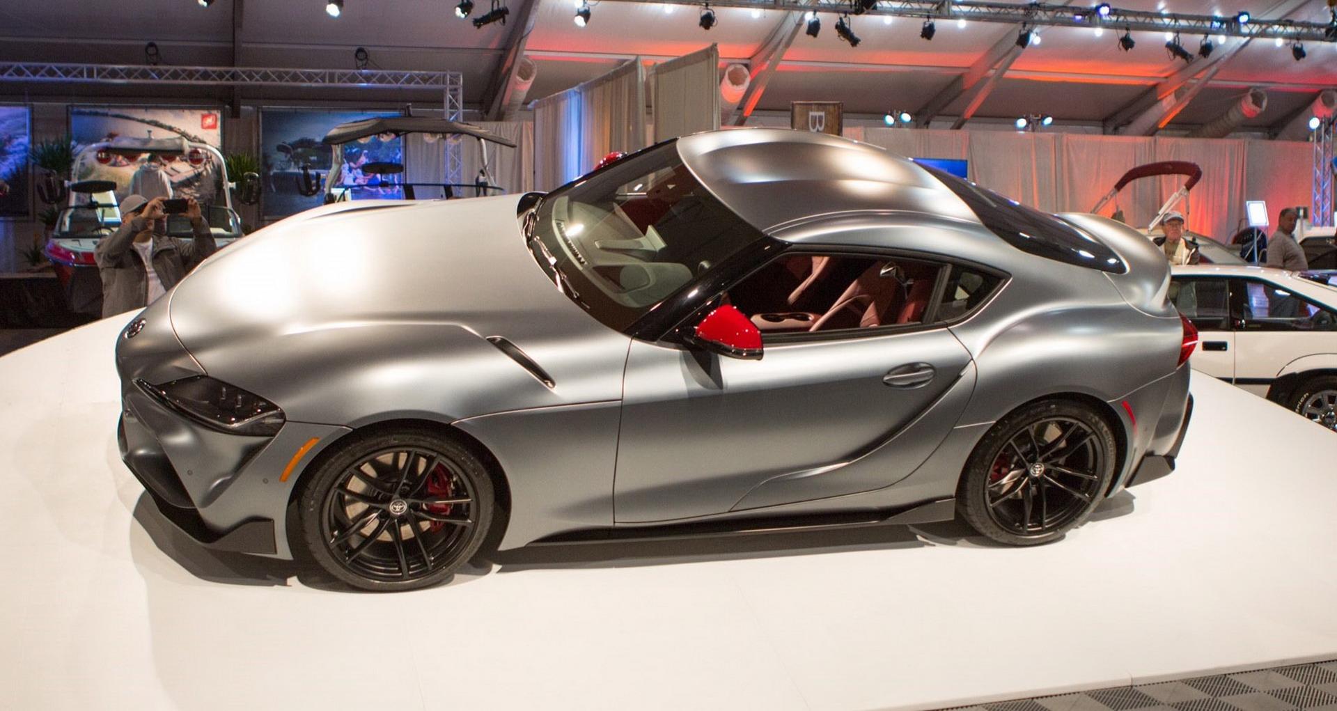 One-Off Toyota Supra's Phantom Grey Paint NOT BMW's Frozen Grey | Carscoops