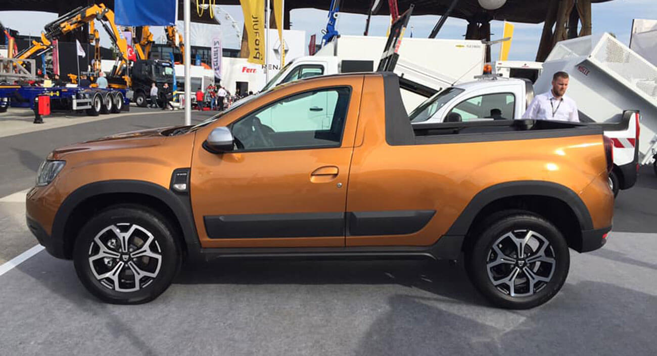 Dacia Duster Pickup Confirmed By Renault Exec Should
