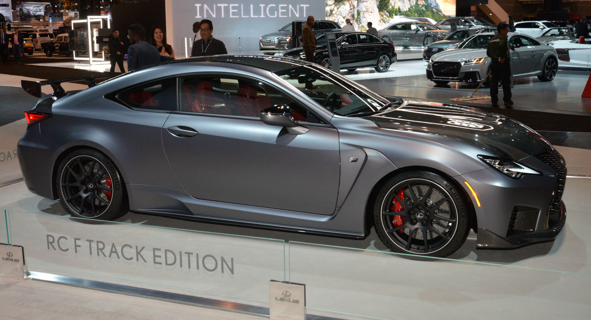 2020 lexus rc f track edition looks fast even standing still