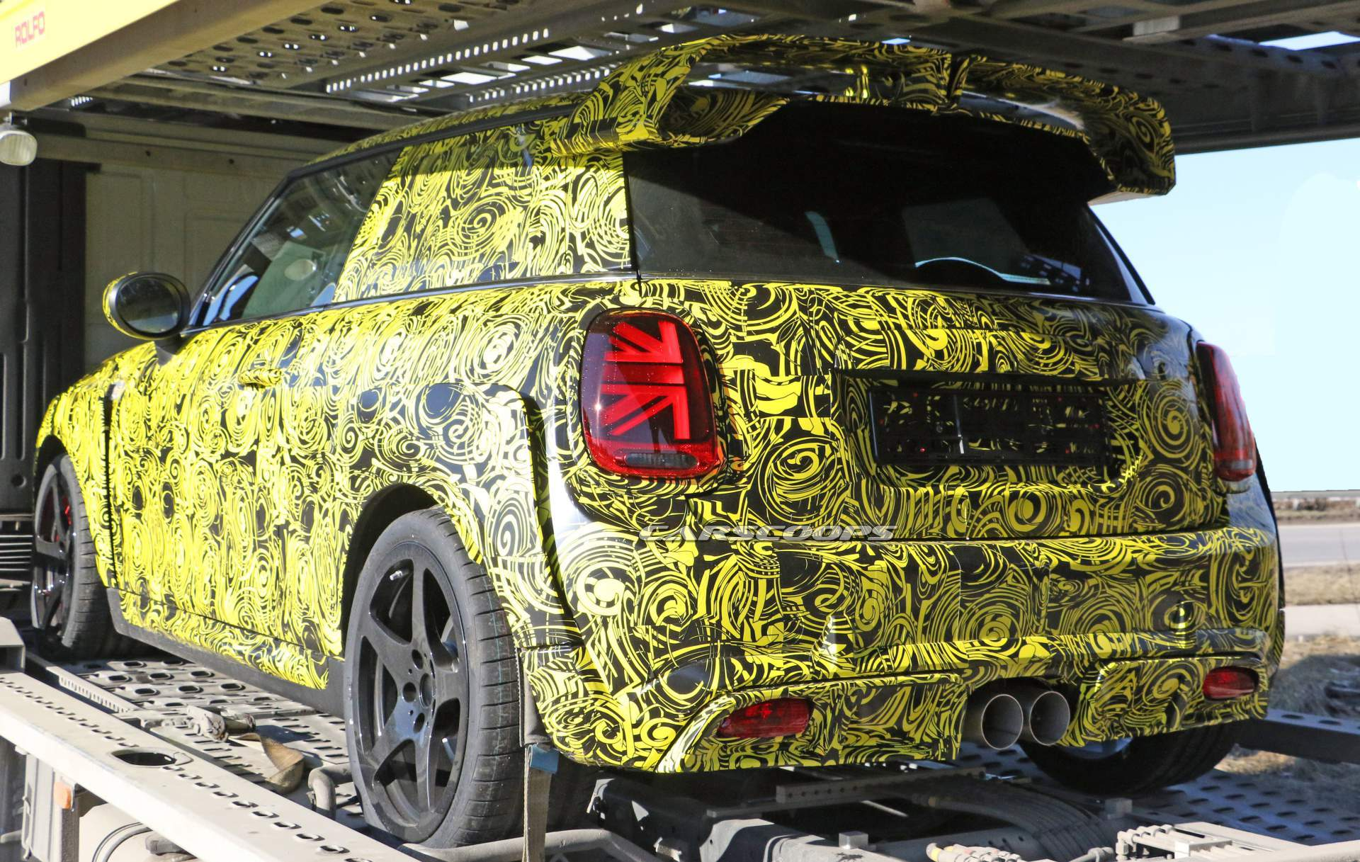 2020 Mini Jcw Gp Shows Wild Production Bodykit For The First Time