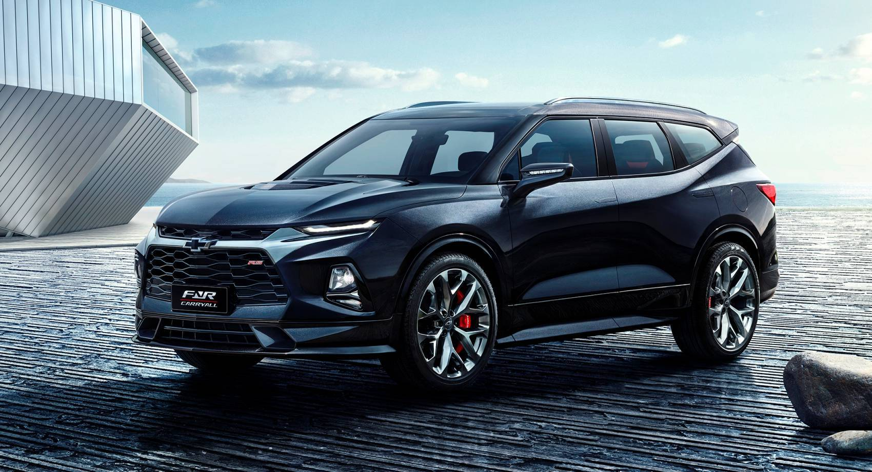 China-Built 2020 Chevy Blazer XL With 3-Rows Reportedly ...