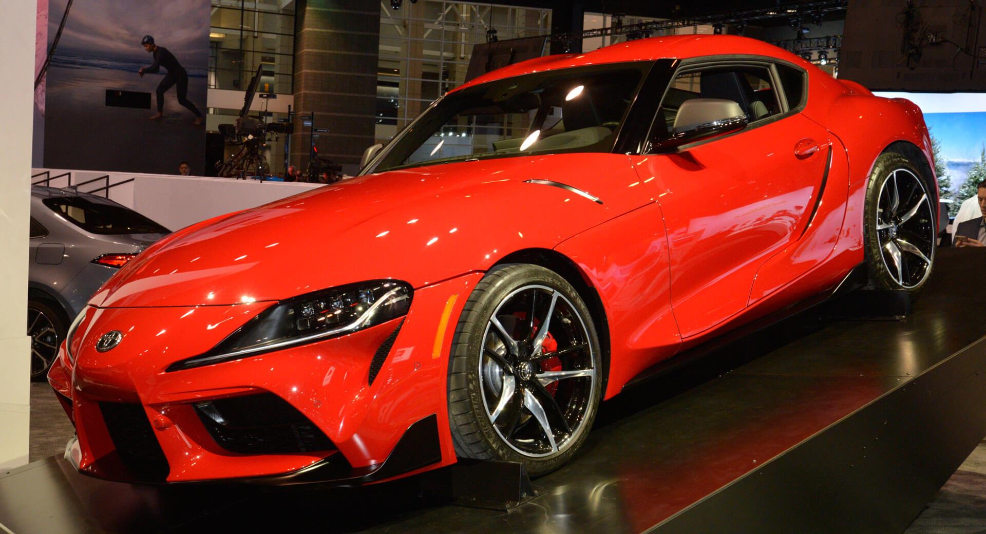 new 2020 toyota gr supra swingschicago too | carscoops