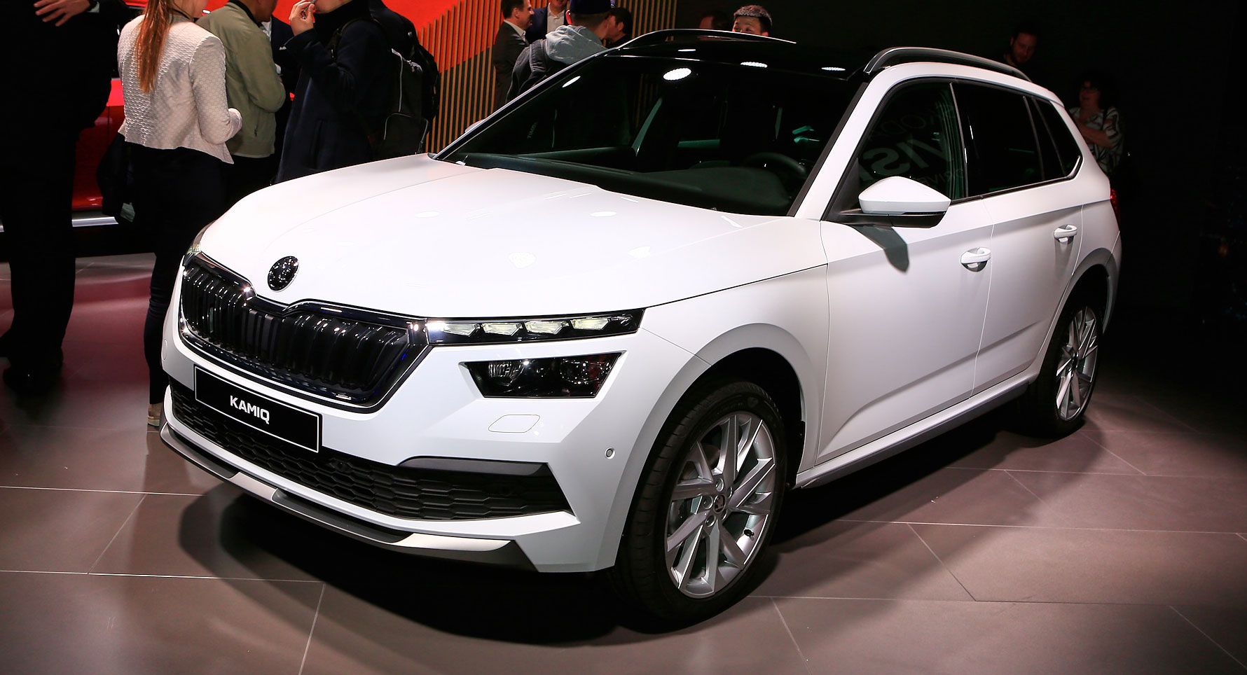 Skoda Kamiq Is One Boldly Styled Subcompact Crossover