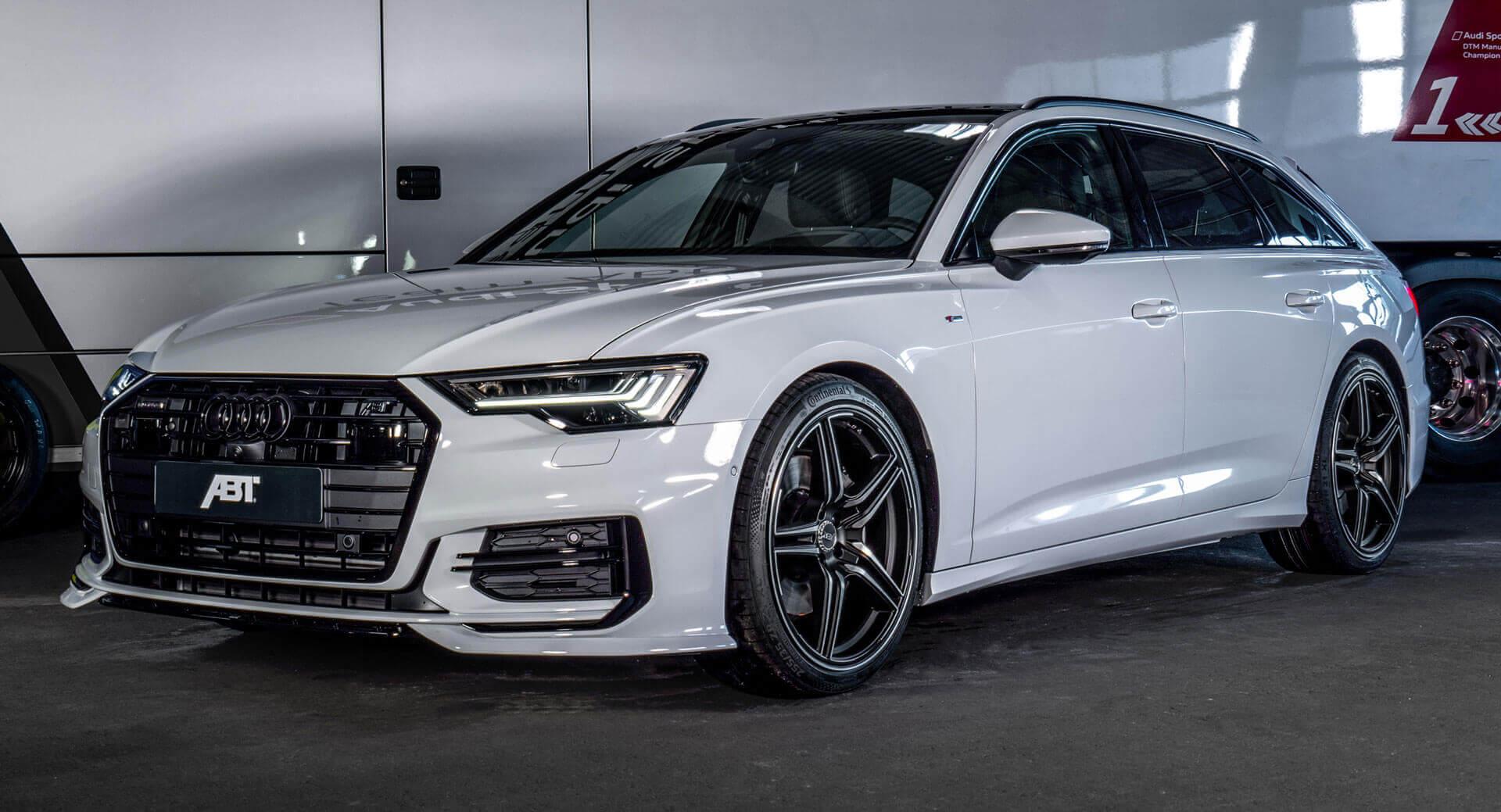 Glacier White Audi A6 Avant 3.0L Diesel Gets 325 HP ...