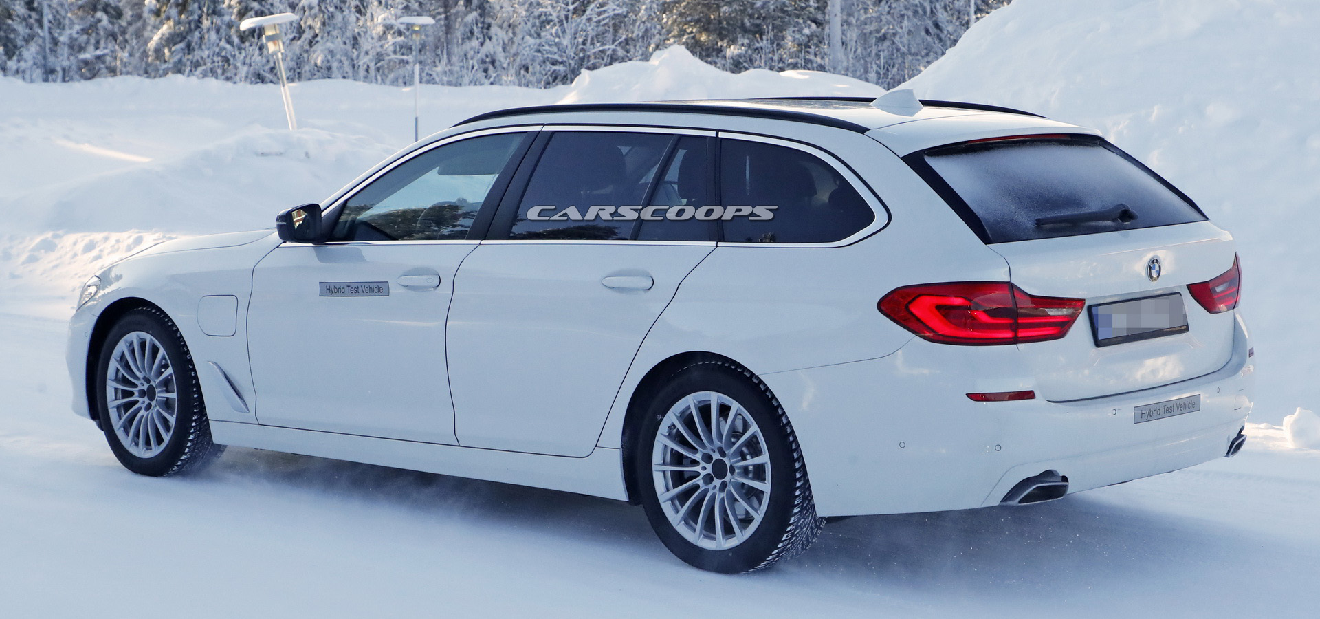 Bmw Preparing 530e Iperformance Touring Phev For 2019 Release But