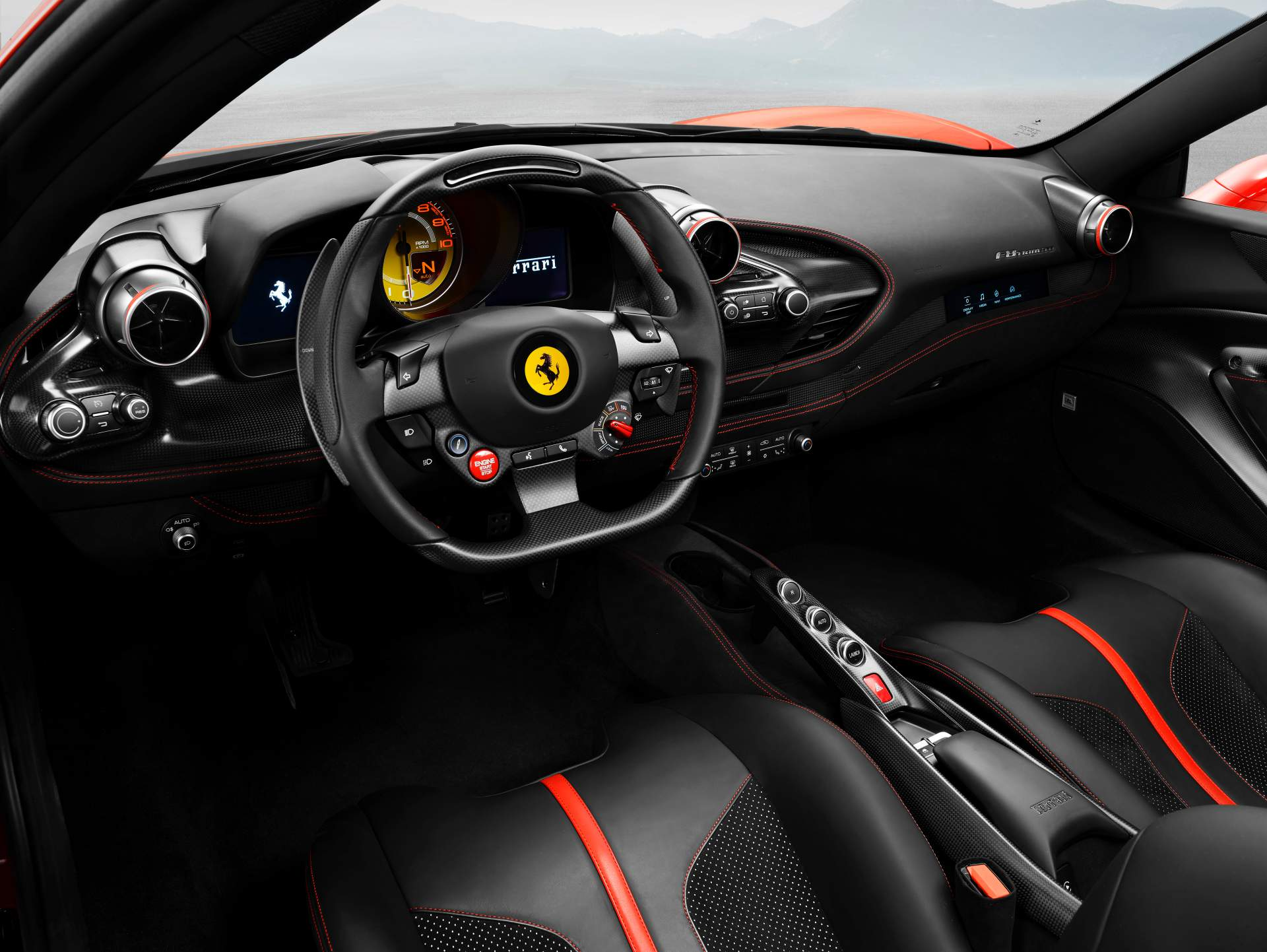 Ferrari F8 Tributo Revealed As 488 GTB Replacement