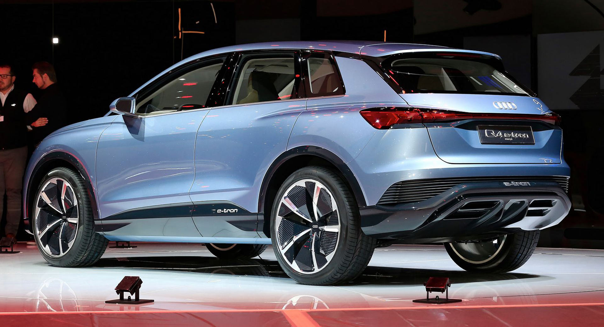 Audi Q4 e-tron concept teases more affordable e-SUV for 2021