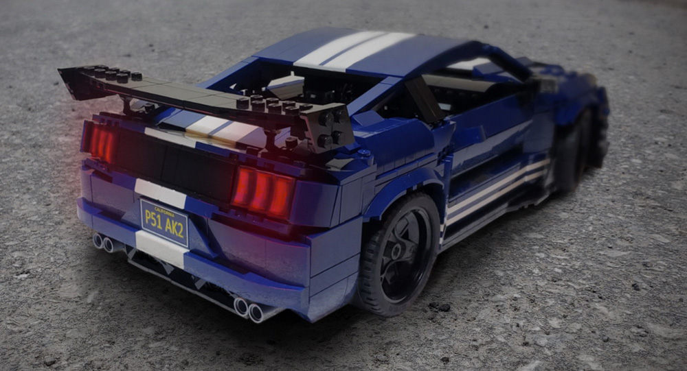 Lego Enthusiast Builds A 2020 Mustang Shelby GT500 Scale Model
