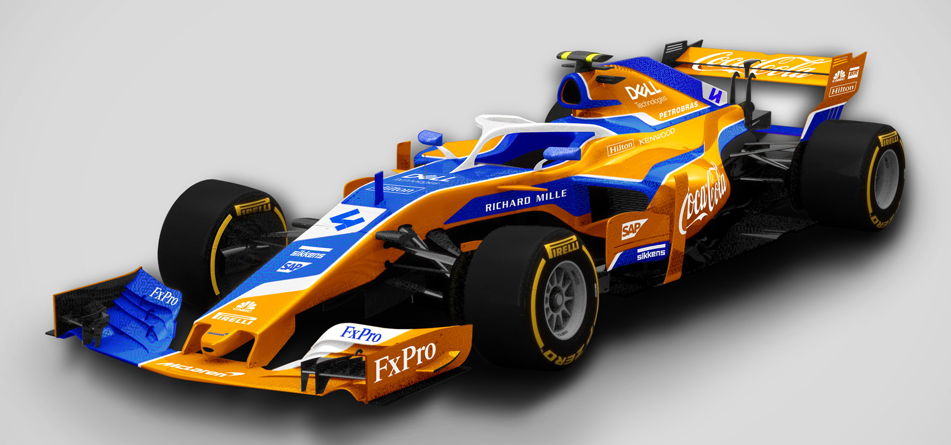 Check Out These Awesome Alternate F1 Liveries For 2019 ...