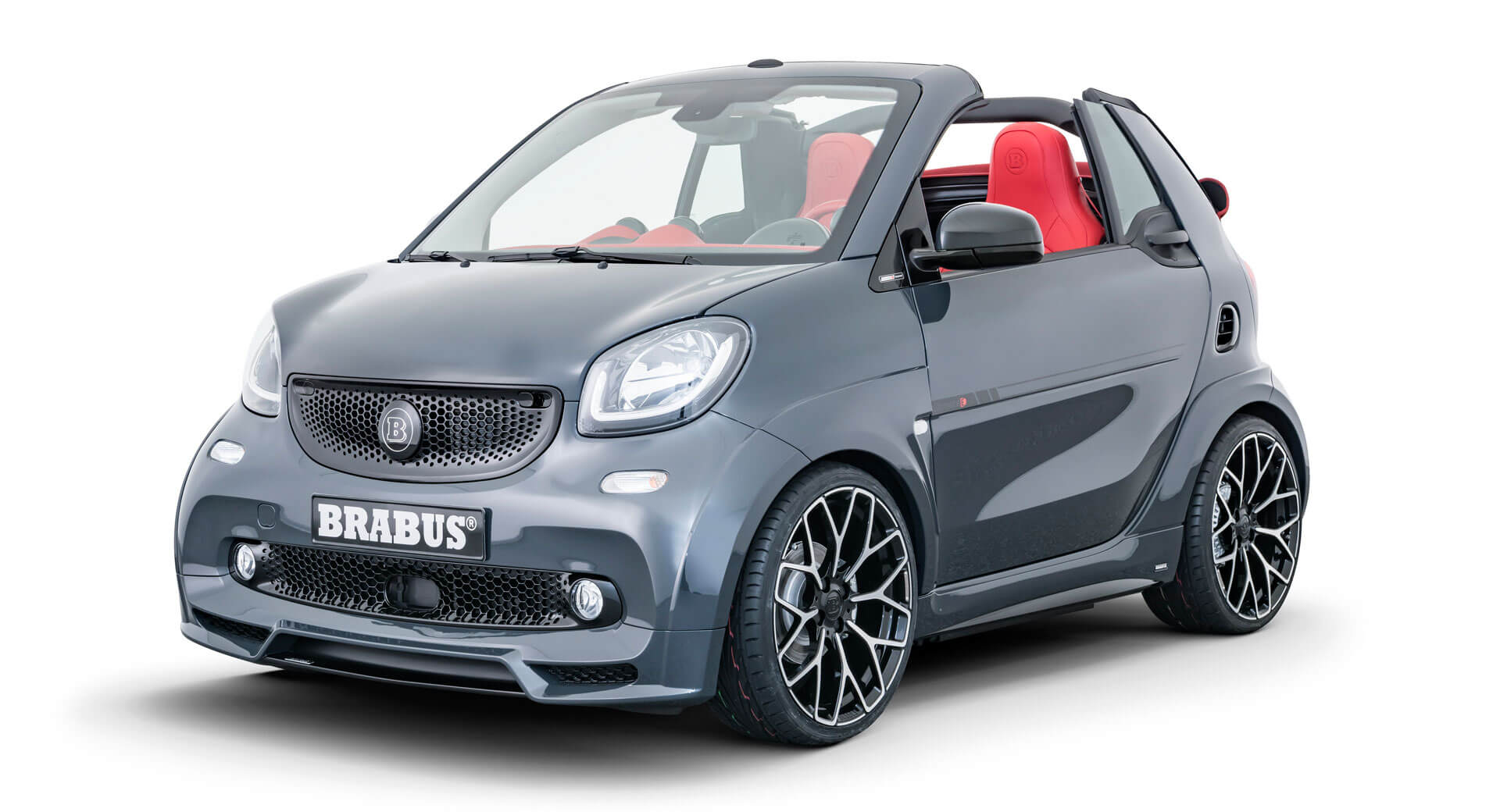 brabus ultimate e shadow edition is a 64 900 smart fortwo. Black Bedroom Furniture Sets. Home Design Ideas